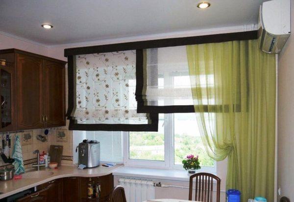 Выбор штор на кухню 3