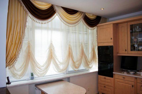 Как выбрать шторы на кухню 2