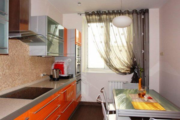 Как выбрать шторы на кухню 5