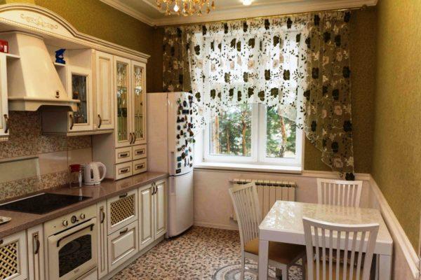 Как выбрать шторы на кухню 8