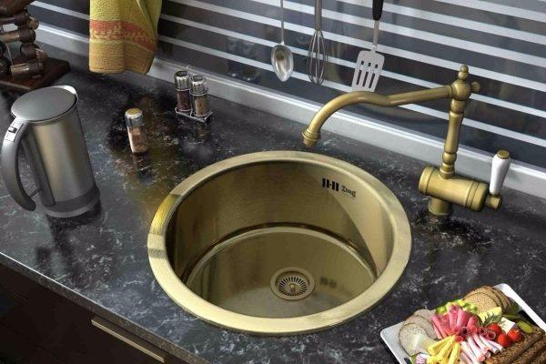 Медные и латунные элементы в интерьере кухонь ИКЕА
