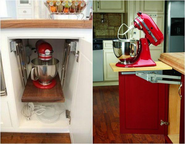Способ хранения кухонного комбайна