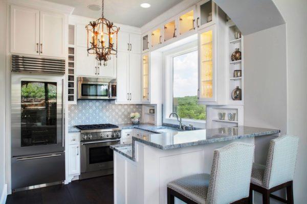 Дизайн кухни с барной стойкой – это яркая изюминка оформления и одновременно функциональный элемент интерьера
