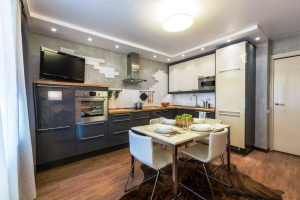 Угловая кухня 9 кв. м 2