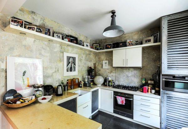 Отделочные материалы для кухни 9 кв. м 4