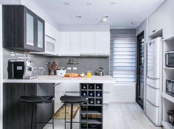 Холодильник на 9 метровой кухне