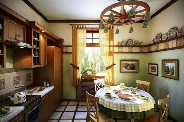 Кто-то предпочитает незатейливый уют кантри или ностальгический интерьер в стиле ретро, где приятно собраться и неспешно пообедать всей семьёй