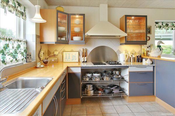 обустройство кухни фото