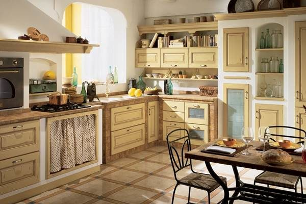 Интерьер кухни в стиле ИКЕА