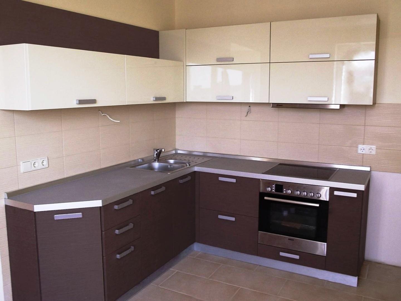 Нейтральные цвета кухонного фартука