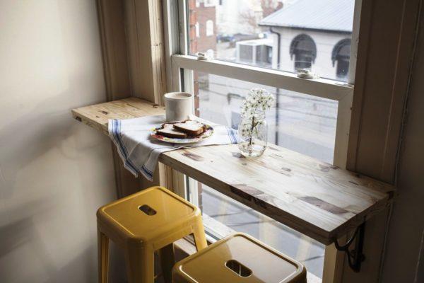 Вы получите отличную панораму, радующую взор за чашкой кофе или бокалом вина