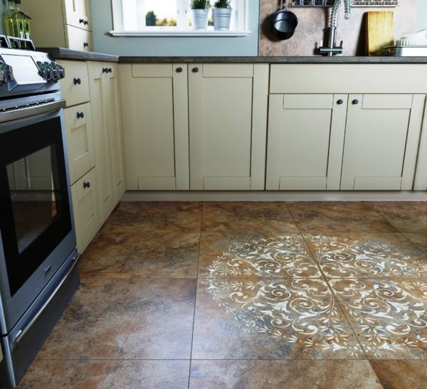 Керамогранит - прочное и надежное напольное покрытие для пола кухни