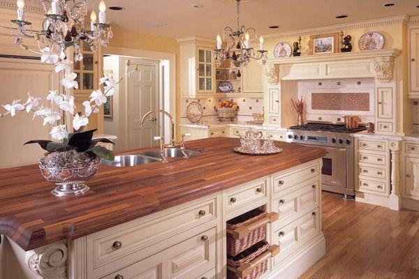 Кухня в викторианском стиле: кухня английский аристократов