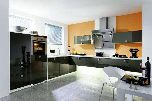 Мебель в стиле хай-тек для кухни