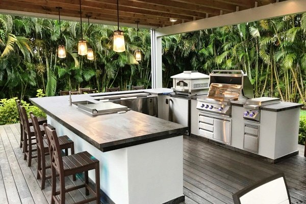 мебель для кухни в азиатском стиле