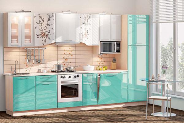 Кухонная мебель должна быть выполнена из специальных материалов.