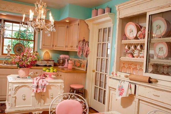 Мебель для кухни в стиле Шебби Шик