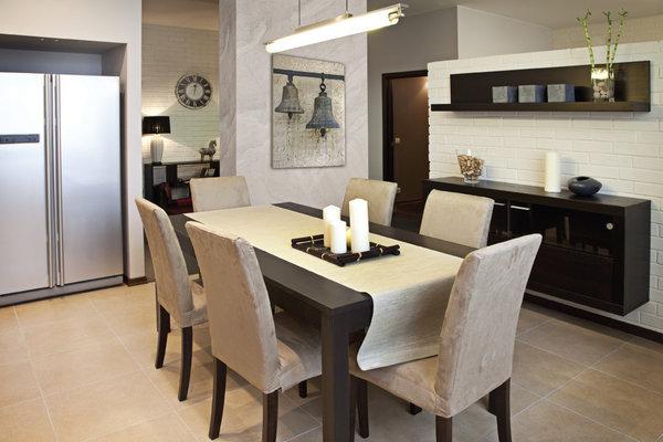 Мебель в столовой зоне