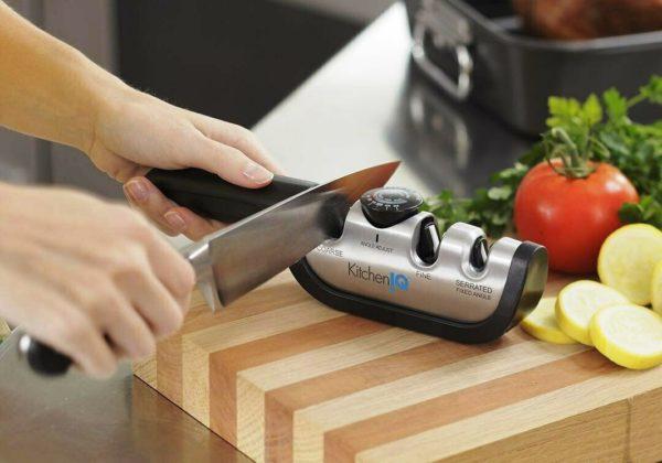 Механические точилки, самый удобный способ заточить нож в домашних условиях