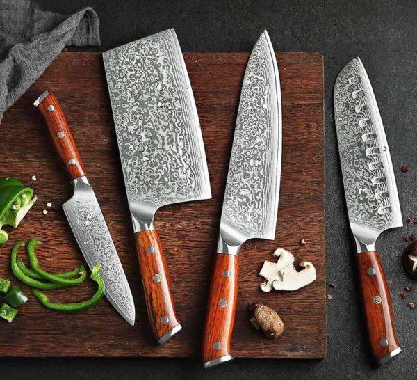 Заточка кухонных ножей такого типа стирает специальное покрытие и нож лишается своих преимуществ — естественно такие модели точить нельзя