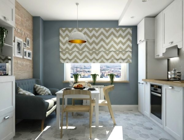 Для расстановки цветовых акцентов в этом стиле используют аксессуары,,можно положить яркие подушки на диван или уютный плед.