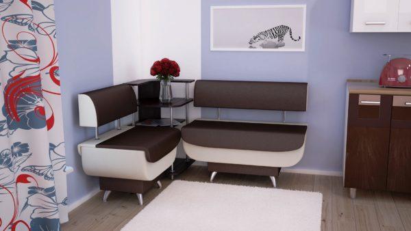 Модульный диван для кухни
