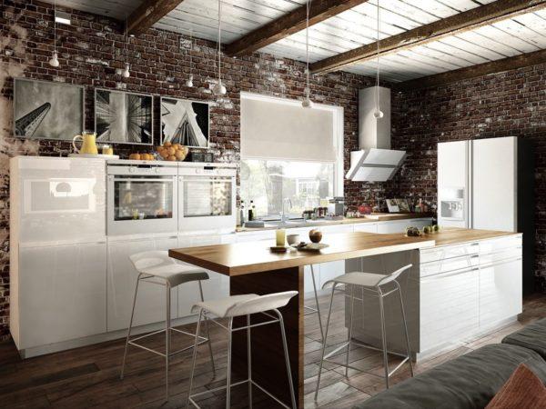 Кухня в светлых тонах все-таки считается более комфортной
