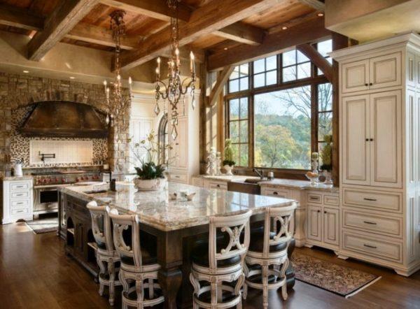 Особую роскошь придадут интерьеру, выполненные из керамогранита столешницы, отличающиеся невероятной практичностью и оригинальным внешним видом