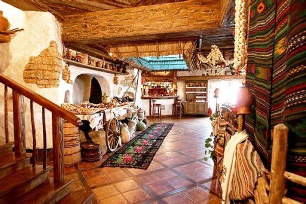 Дизайн интерьера кухни в украинском стиле