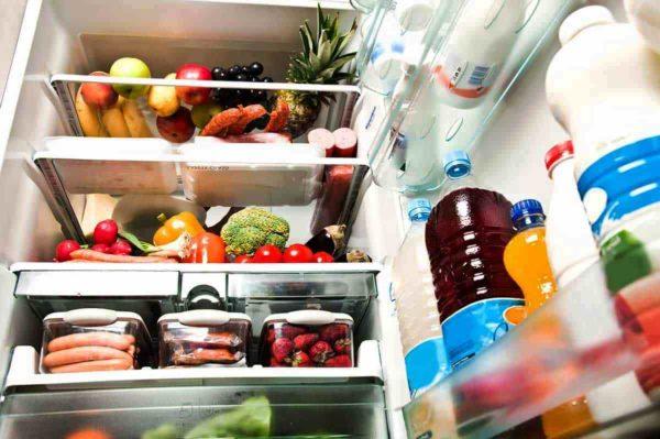 Хранение продуктов в холодильнике