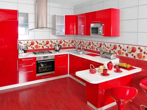 Модный цвет кухни