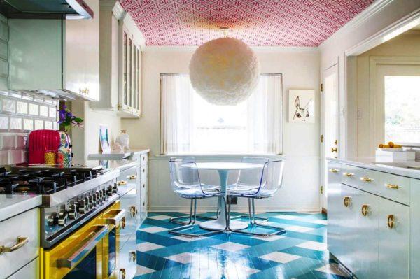 Полы на кухне