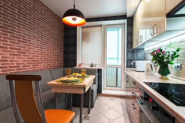 Кухонные уголки для дополнительного спального места на кухне