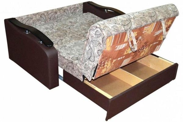 диван аккордеон для кухни фото