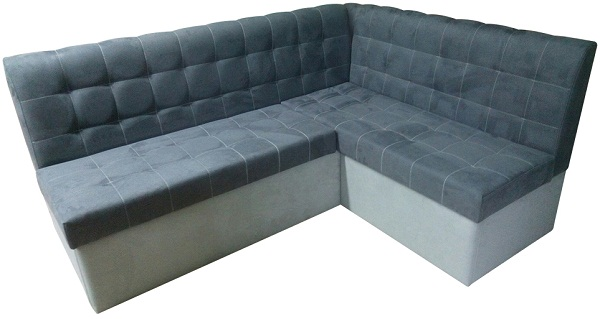 диван микровелюр для кухни фото