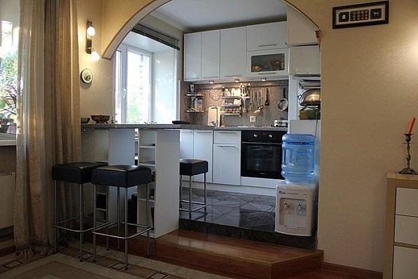 перепланировка увеличение кухни за счет комнаты