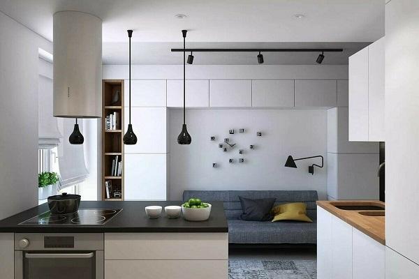 вентиляции в кухне-студии