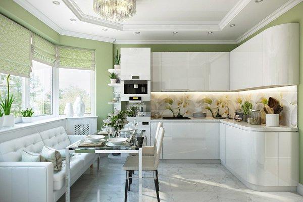 Дизайн-проект интерьера кухни