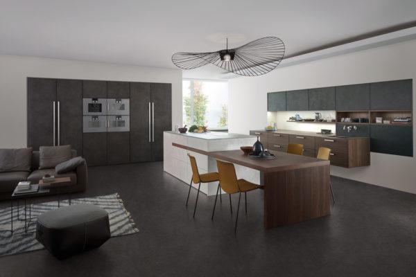 кухни leicht в интерьере фото