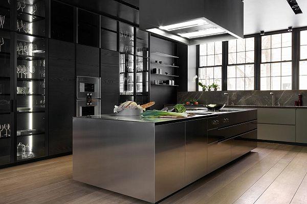 кухни leicht в интерьере