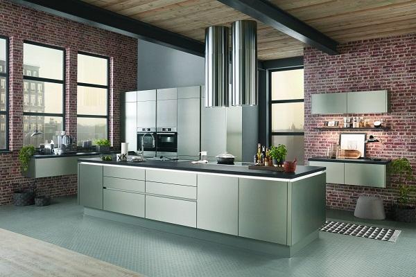 Кухня nobilia для стиля хай-тек