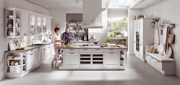 Кухни nobilia для стиля кантри