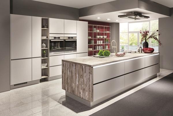 Кухня в стиле минимализм nobilia
