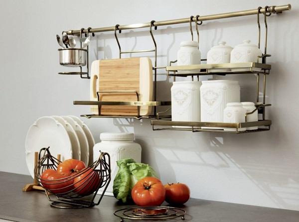 рейлинг на кухне фото в интерьере