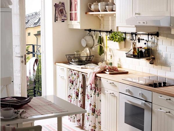 рейлинги на кухню в стиле прованс