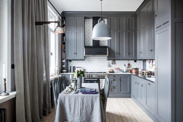 Классические шторы для кухни Икеа фото