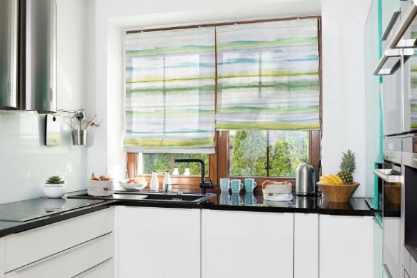 Римские шторы для кухни Икеа фото