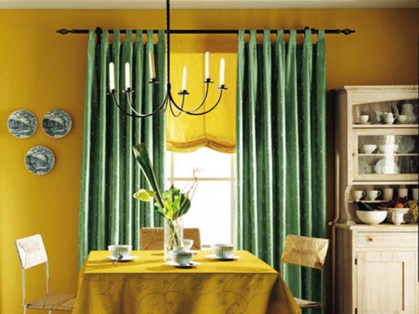 шторы Икеа для кухни фото