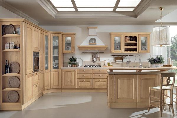 Подбор и установка мебели в интерьере кухни