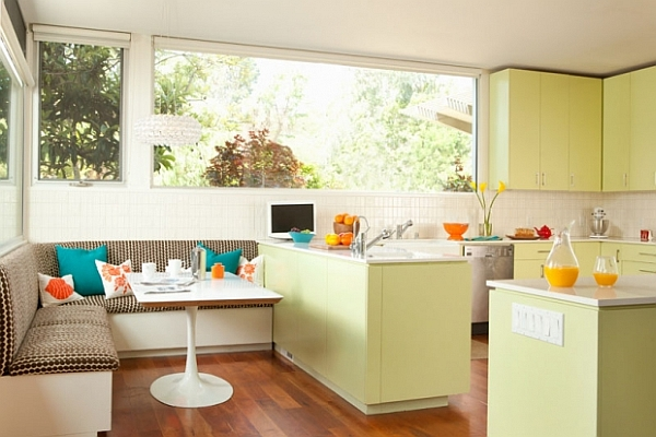 зоны на маленькой кухни